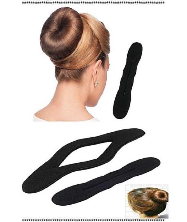 Hair Bun Sponge Hair Bang Clip Hair Donut Bun Maker