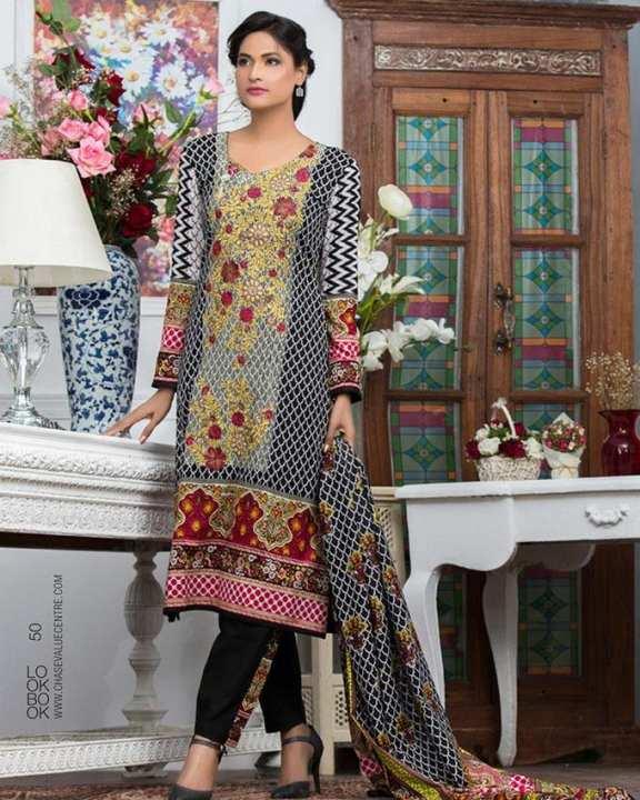 Nur Zara Lawn Collection Chase Value Centre 9B Multi