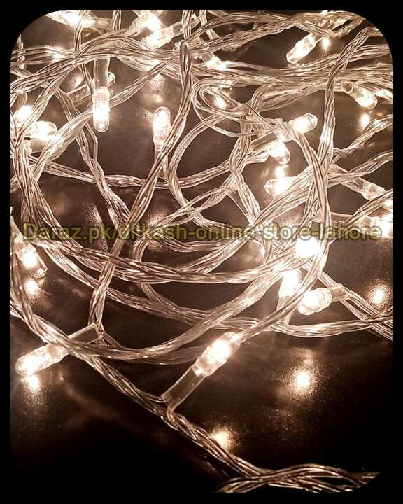Fairy LED Light String Decoration Light Led Still - 25 Feet Long - White