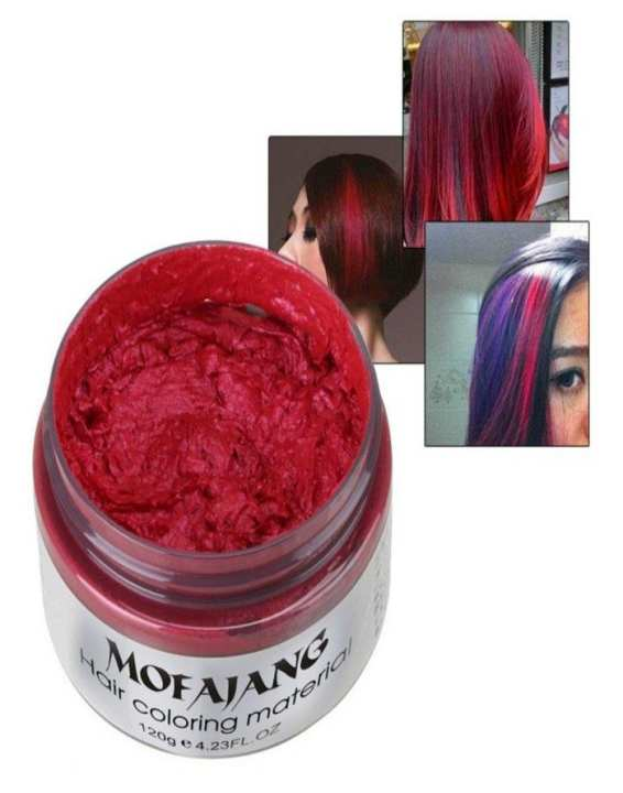 Hair Color Wax - Red