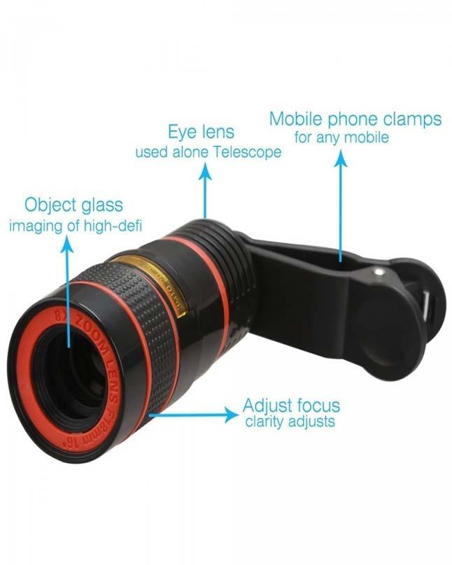 Universal Mobile Phone Clip Lens By Meerub Collection - Original