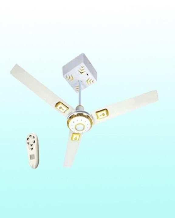 """Solar Rechargeable Ceiling Fan 56"""""""