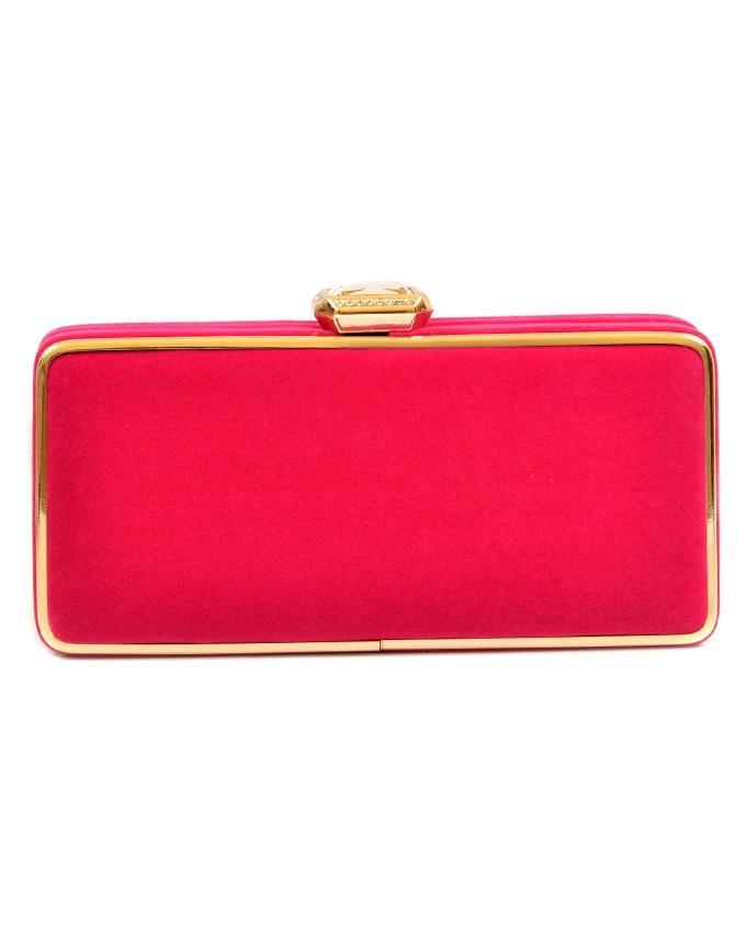 Pink Fancy Clutch Bag for Women - 20300538