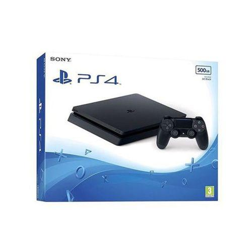 Playstation 4 Slim 500gb Region 2 Pal Black