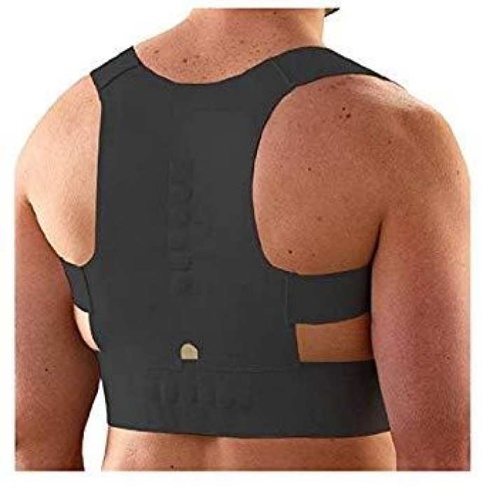 Magnetic Therapy Posture Corrector Body Back Pain Brace Shoulder Support Belt