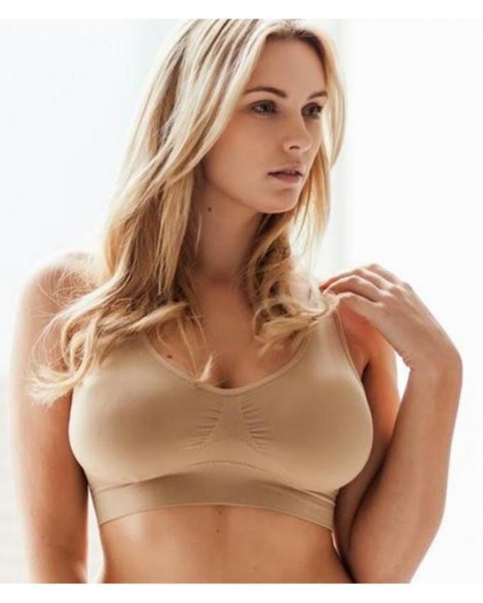 71660c7e4f073 Skin color - Air Bra For Women - Adjustable