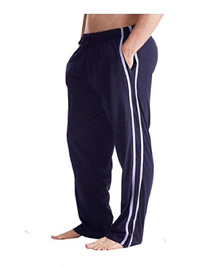 Multicolor Cotton Trousers For Men
