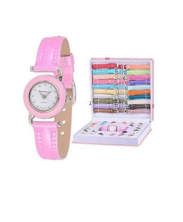 21 in 1 - Multi Color Wrist Watch Set For Women