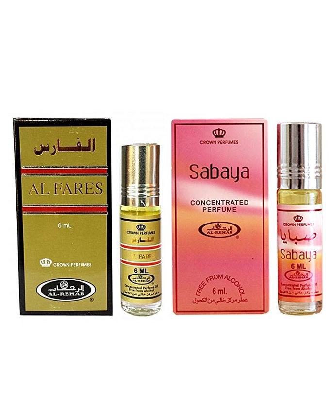 Sabaya & Al Faris None Alcoholic Attar - 6Ml