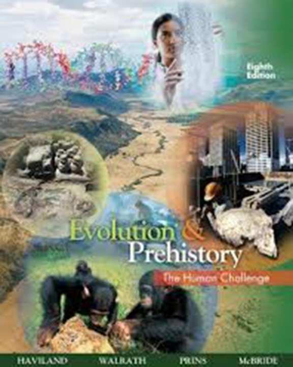 Evolution And Prehistory: The Human Challenge, 8E (Pb) 2008