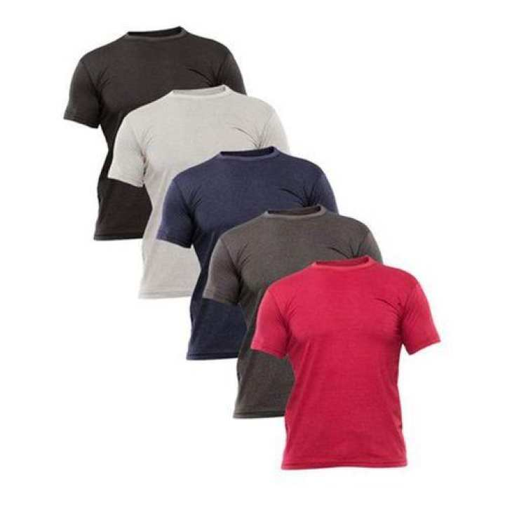 PACK OF 5<br />CREW NECK TSHIRT