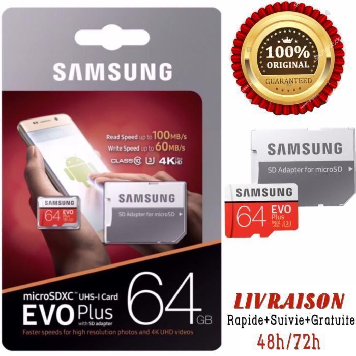 Micro SD Card Samsung 64 GB