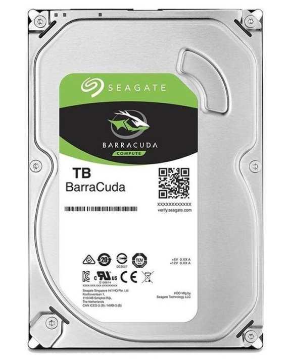 BarraCuda SATA Hard Drive - 1TB - Silver