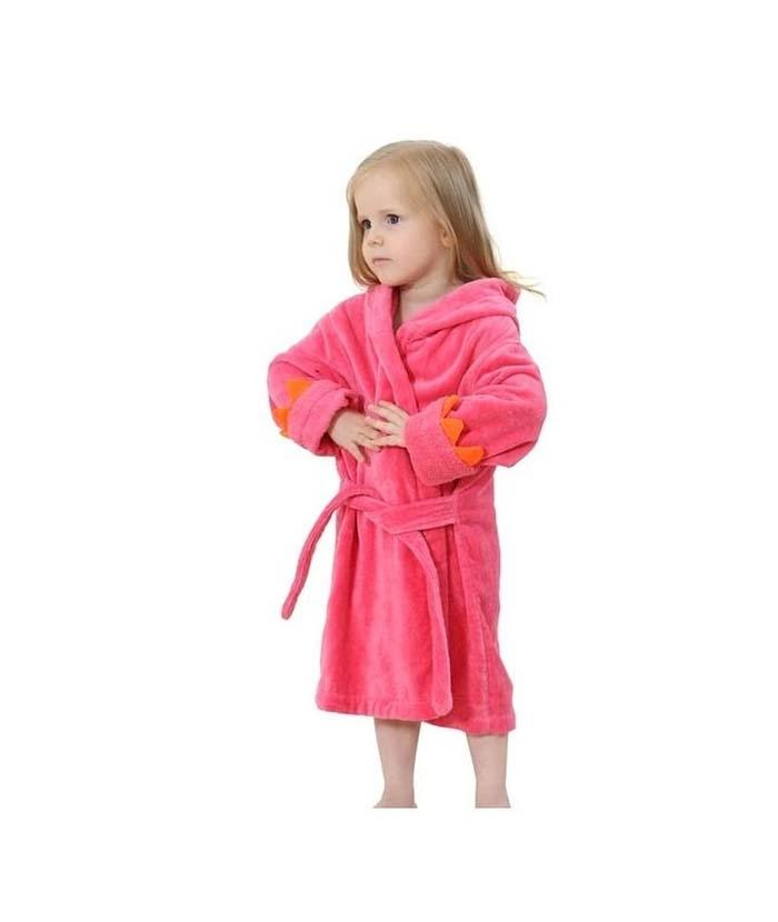 7af76557ca Red Egyptian Cotton Bathrobe Towel For Kids