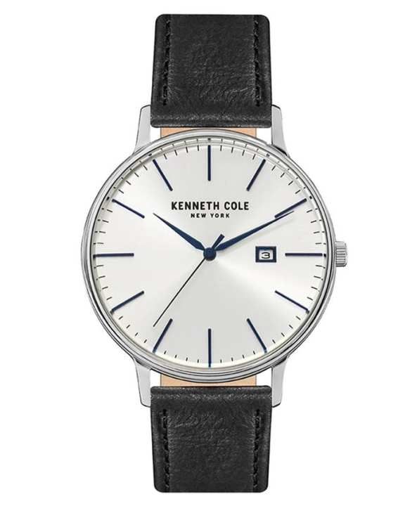 Kenneth Cole 15059006 - Stainless Steel Wrist Watch For Men - Silver