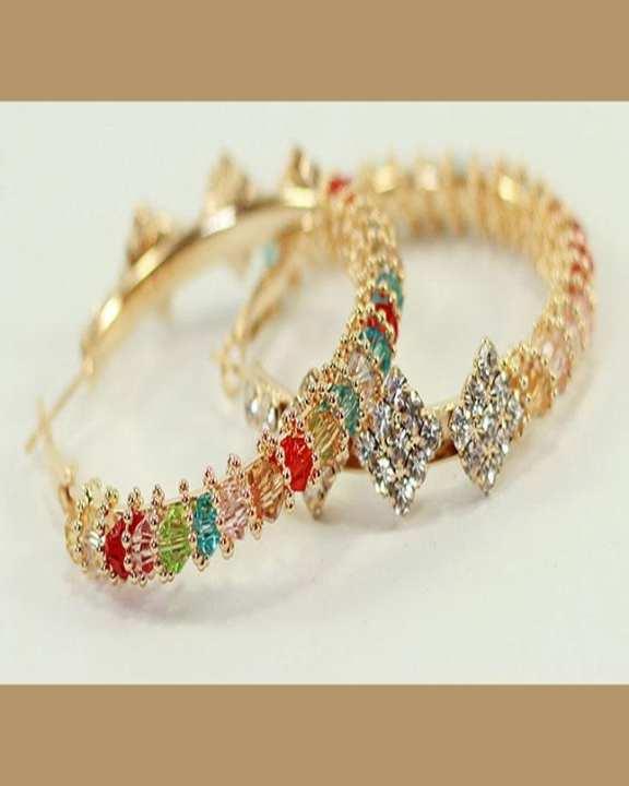 Golden Mix Earrings for Women