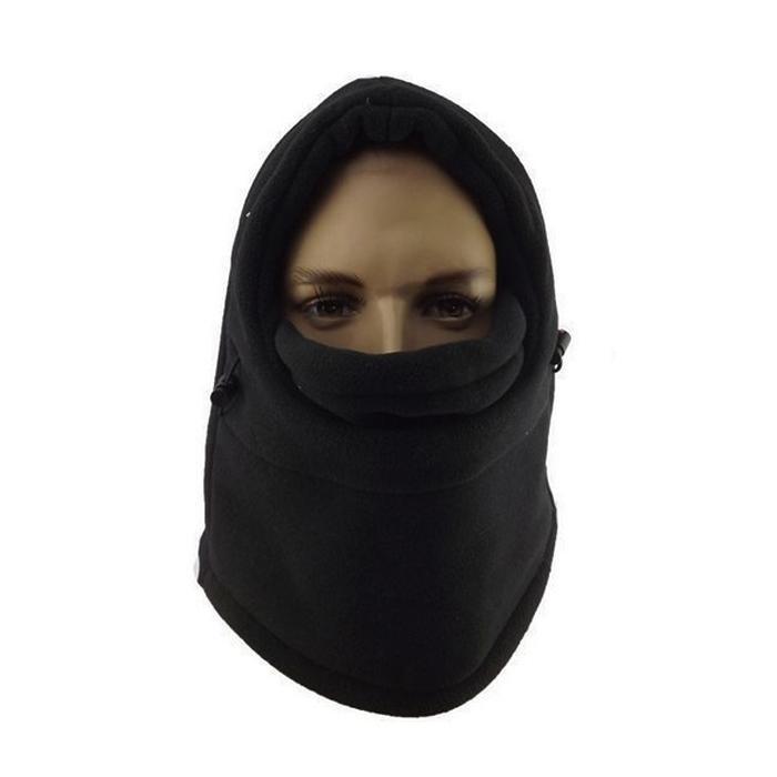 44945bb6c20 6 in1 Neck Balaclava Winter Face Hat Fleece Hood Ski Mask Warm Helmet  Buy  Online at Best Prices in Pakistan