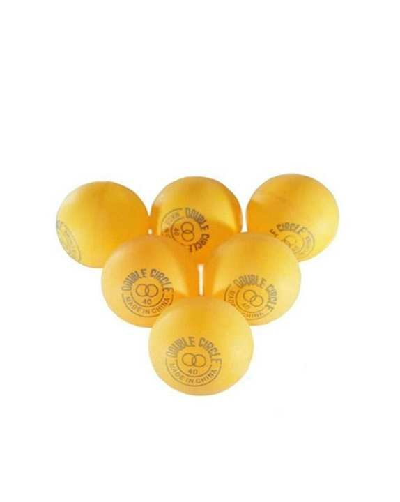Pack of 6 - Table Tennis Ball - Orange