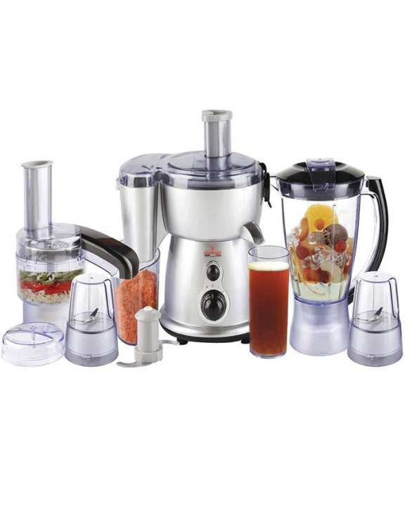 Wf-2804S - Food Factory With 5 in 1 - Silver & Black