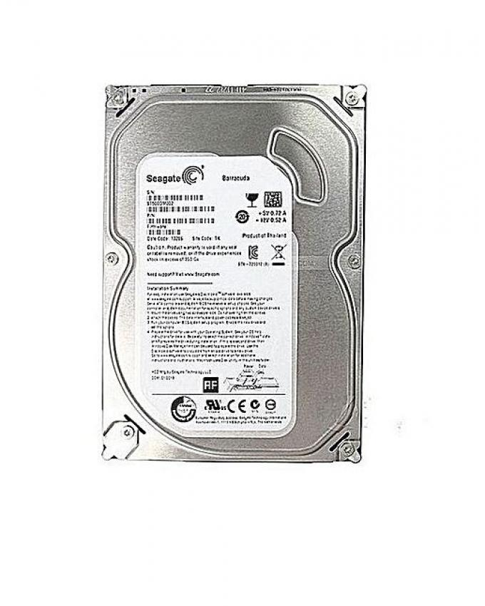 2TB Hard Drive with 1 Year Warranty - Silver