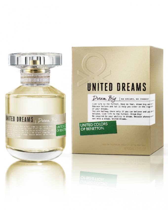 Benetton Dream Big For Women - 80ml