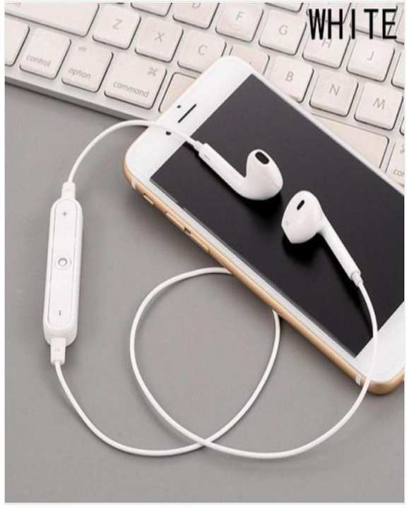 Wireless Bluetooth Hand Free White