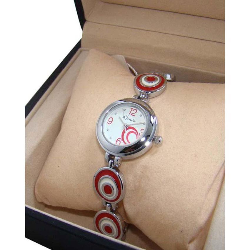 cdad34c3a9a6b Ladies Fashion Oval Bracelet Watch - Red