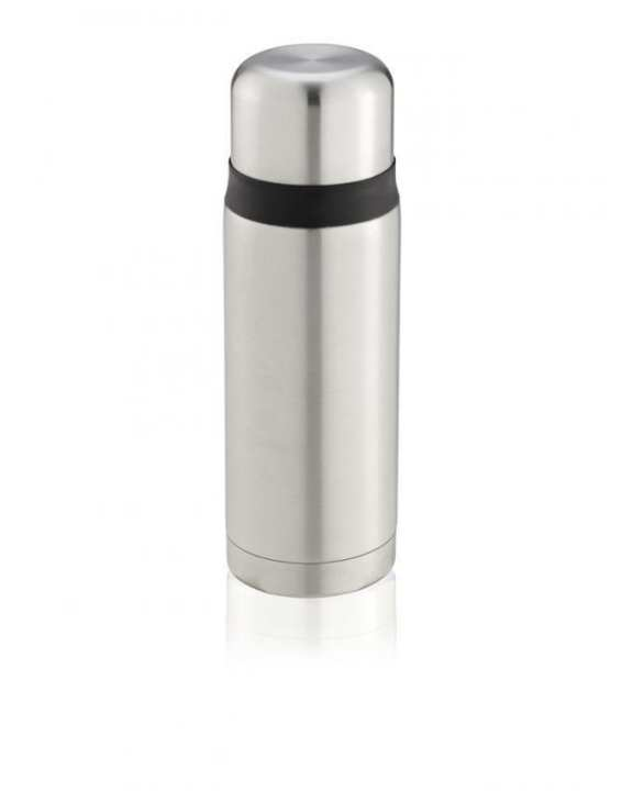 Silver Stainless Steel Insulating Body Twist Bottle