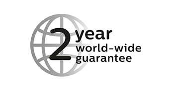 2 year guarantee, worldwide voltage, no oil needed