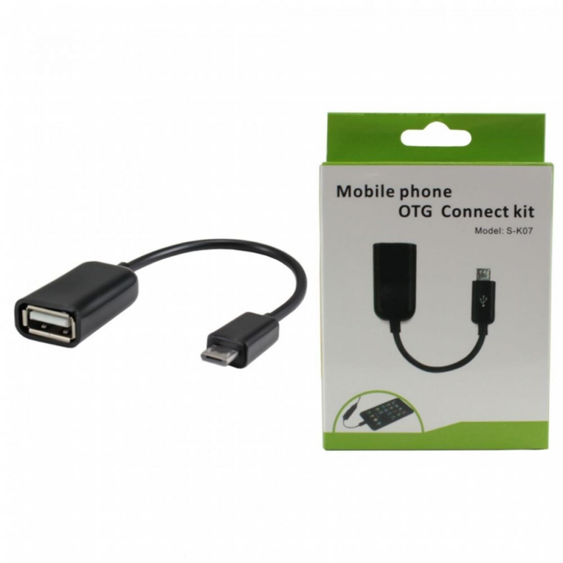 Micro OTG USB CABLE with packing