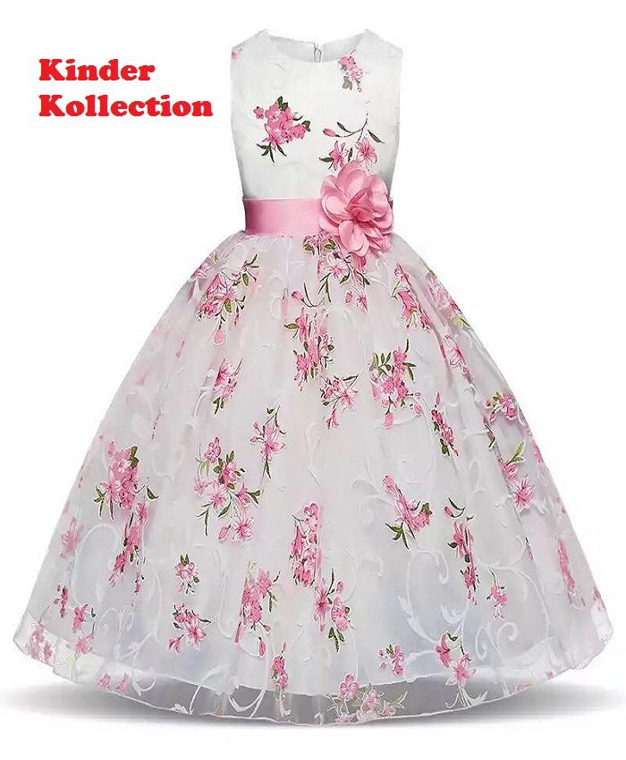 a3e7f2a06e5 3-6 Year Tutu Flower Girls Dress For Wedding Party Birthday Frocks Children  Princess Costume