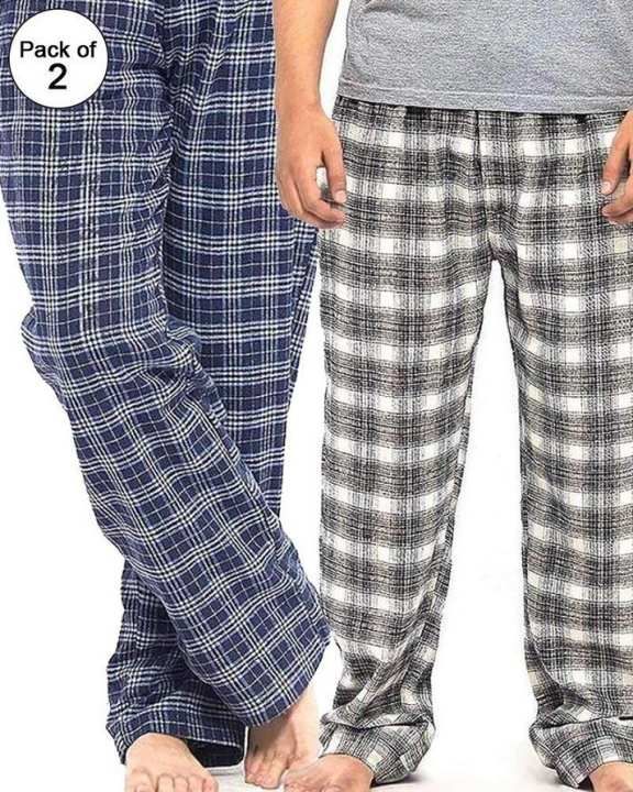 Pack Of 2 Checkered Pajama
