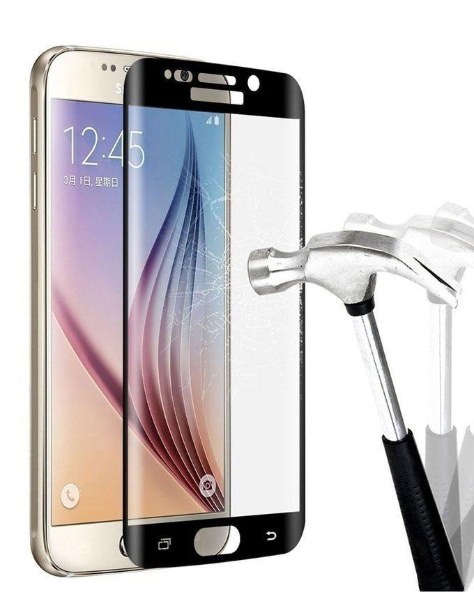 Tempered Glass Protector for Samsung Galaxy S7 Edge - Black