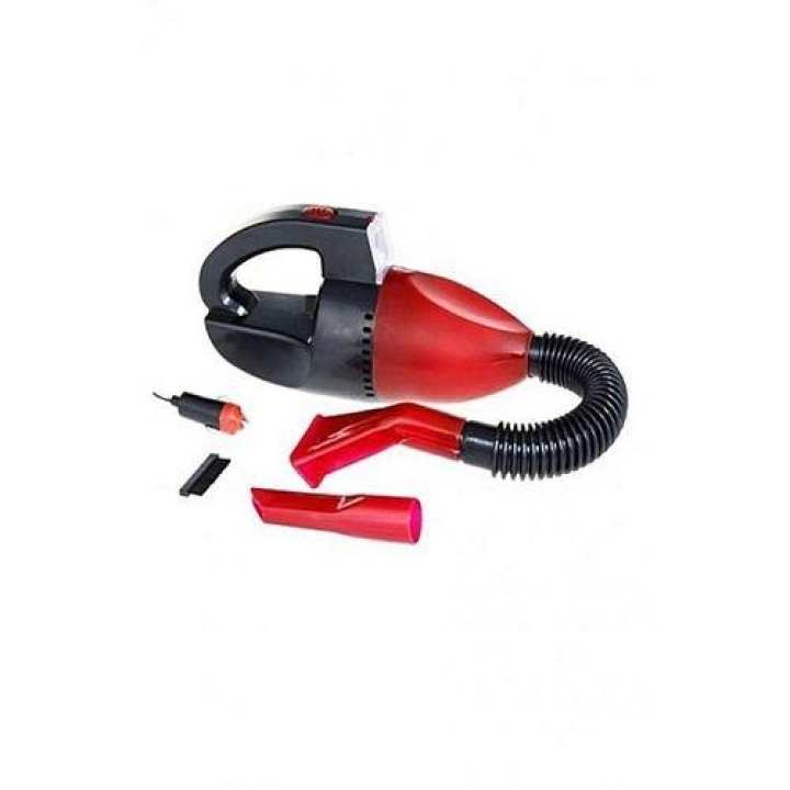 Car Vacuum Cleaner With Light - Cnb4000 - Red