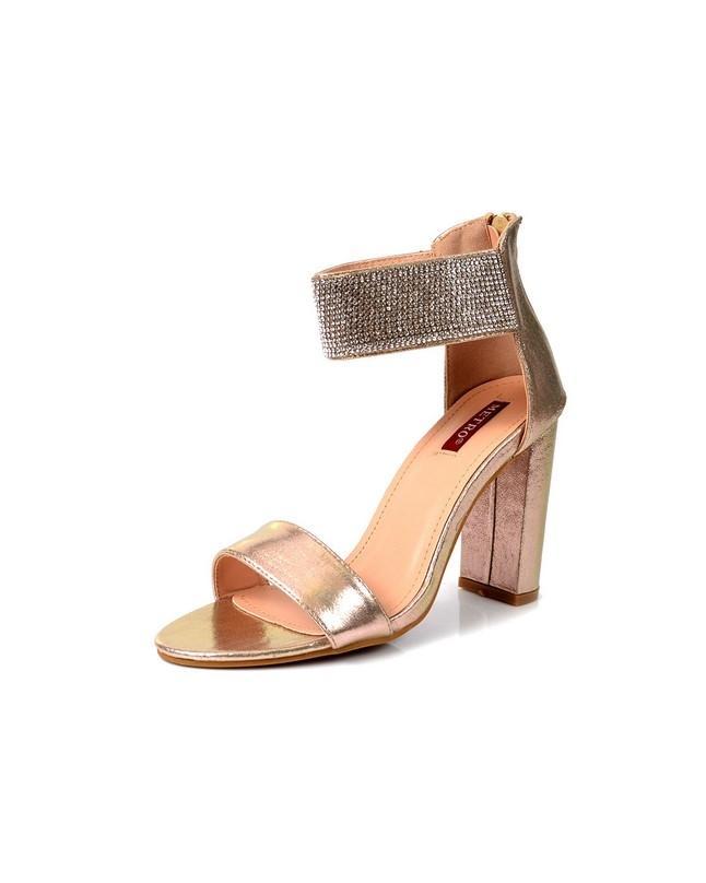 e7a3183af Women s Golden High Heels Sandal