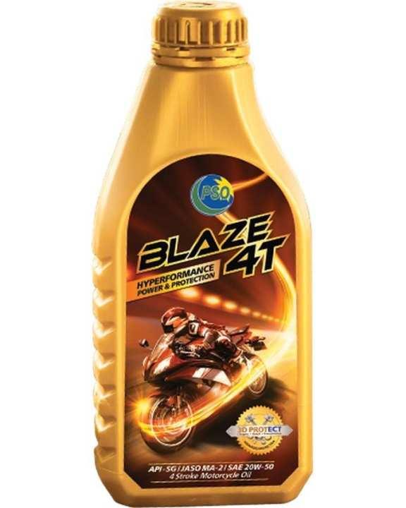 BLAZE 4T SAE 20W50 API SG, JASO MA2 (0.7 Liter Pack)