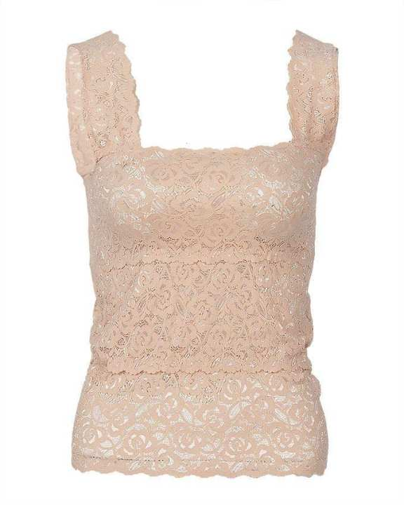 Skin Stretchable Imported Lace Bra - Fashion 2000-S