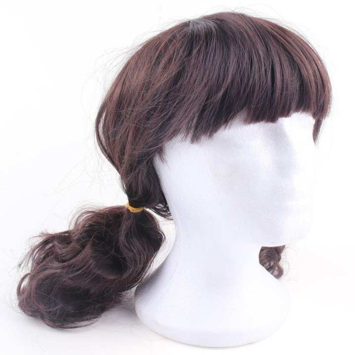 Lovely Boys Girls Hair Wig Full Head Children Wigs Kids Daily Hairpiece brown