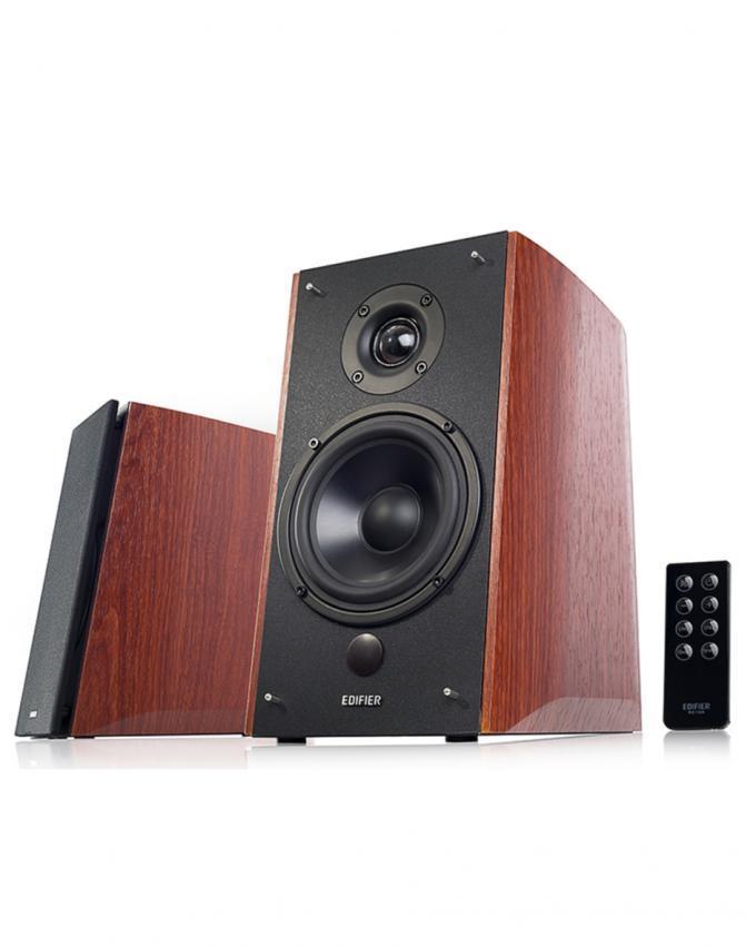 R1900 TV-2 0 Multimedia Speaker With Silk Wireless Remote