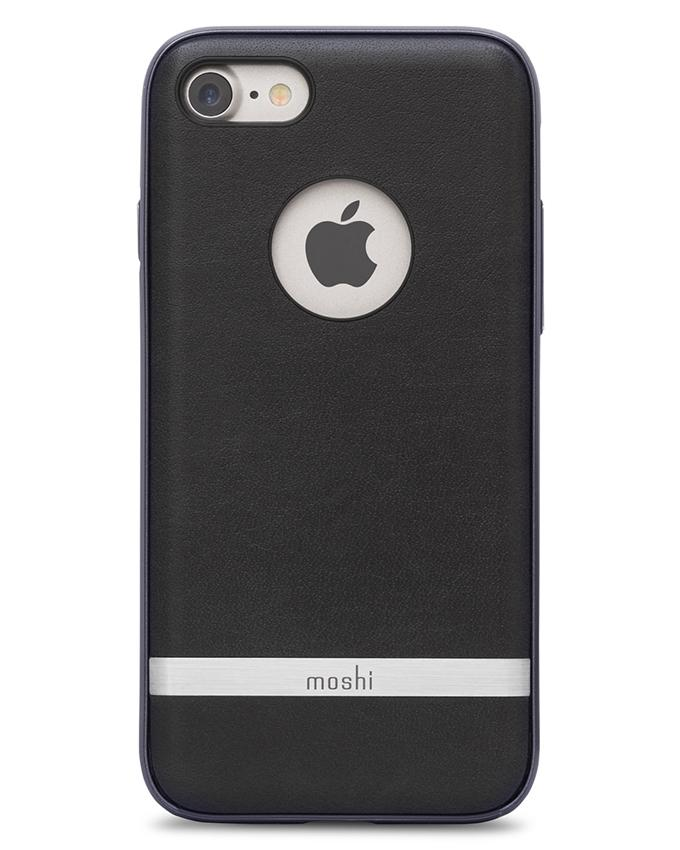 Napa Back Cover For iPhone 7 - Charcoal Black