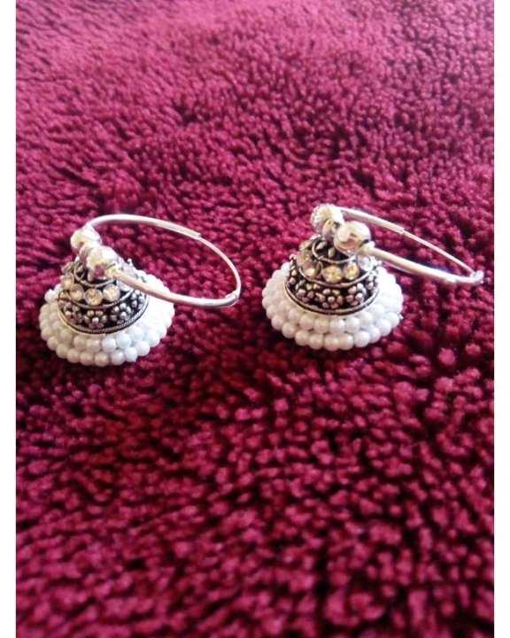 Kundan Jhumka Earrings