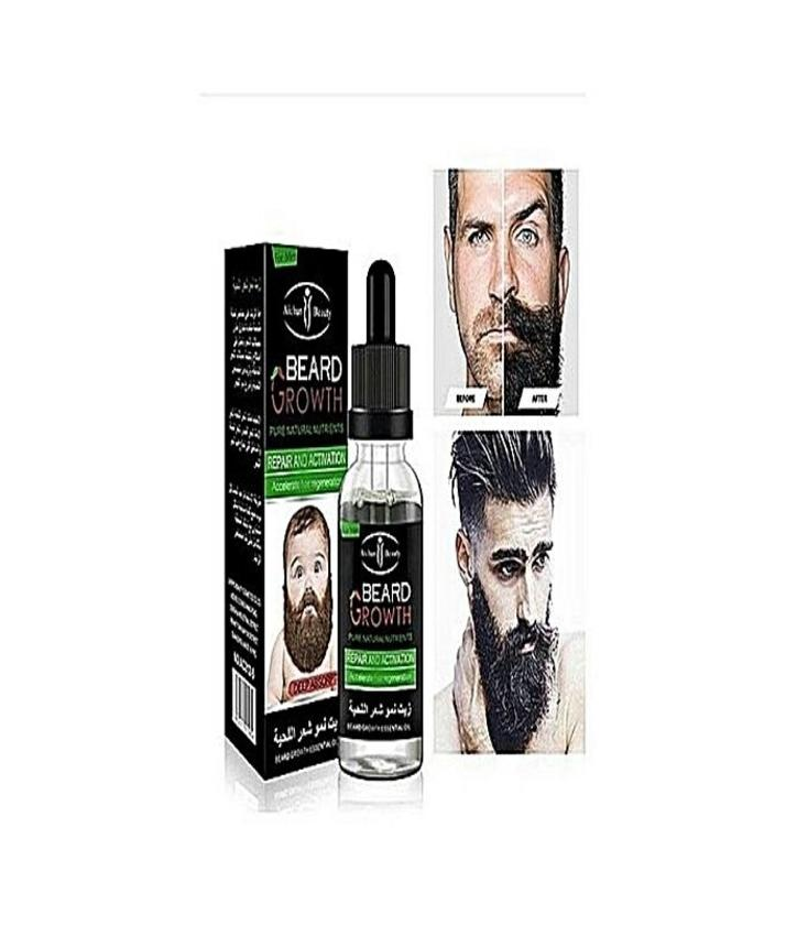 Beard Growth Essential Oil Enhance Facial Whiskers Nutrition