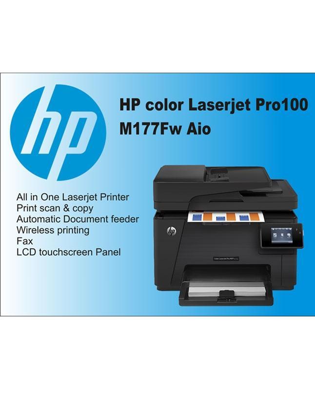 Color Laserjet Pro Mfp M177Fw