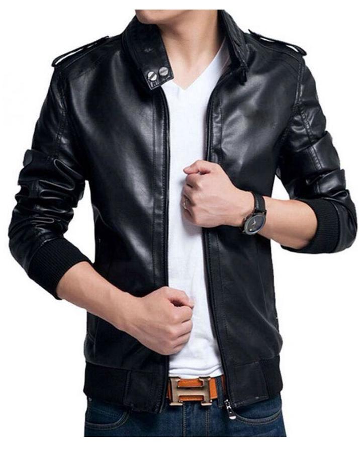 Black Leather Jacket For Men Buy Online At Best Prices In Pakistan Daraz Pk