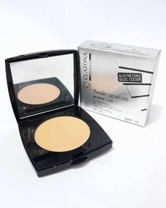 Clazona Face Powder Two Way Cakes - Soft Ivory