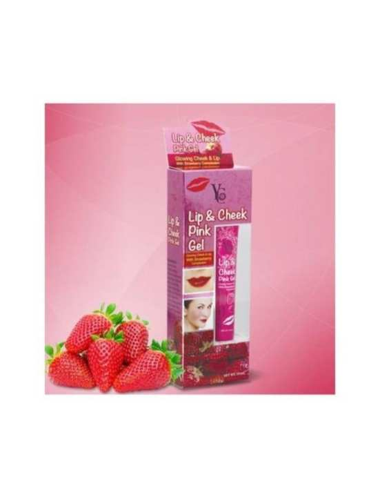 Lip & Cheek Pink Gel -15ml