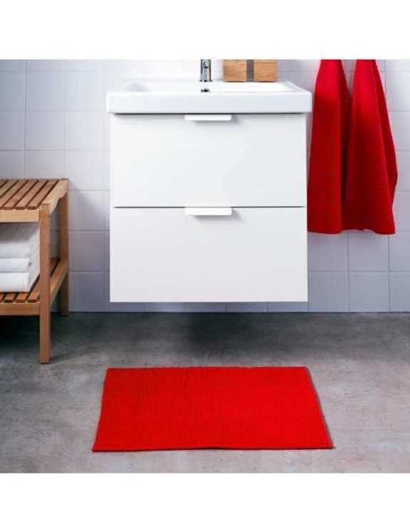 Luxury Bath Mat / Floor Mat Spa Tub-Shower Mat - Red