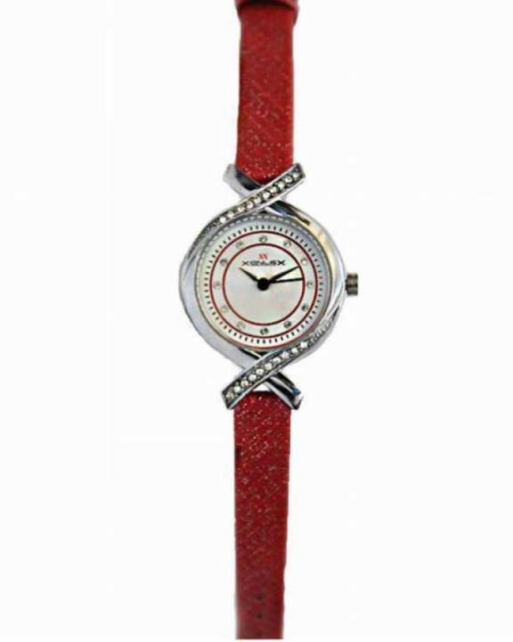 5112 Artificial Leather Analog Watch for Women - Red