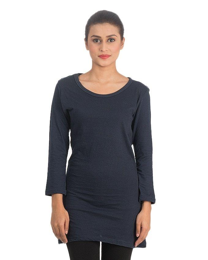 Pack of 4 - Multicolor Cotton Jersey T-Shirts For Women EP_1196