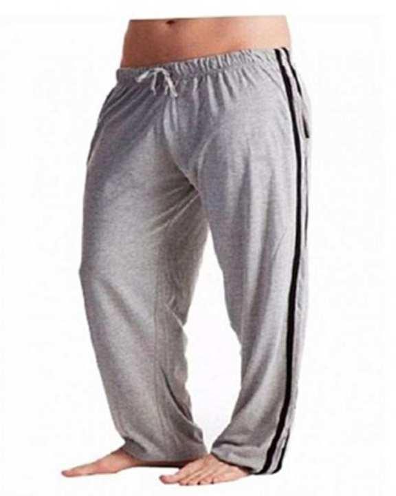 Grey Jersey Trouser